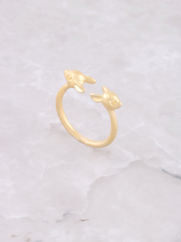 Fawn Midi Ring Anarchy Street Gold