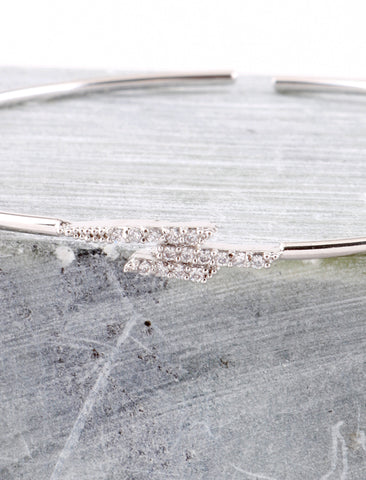 Stacked Bracelet Anarchy Street Silver - Details