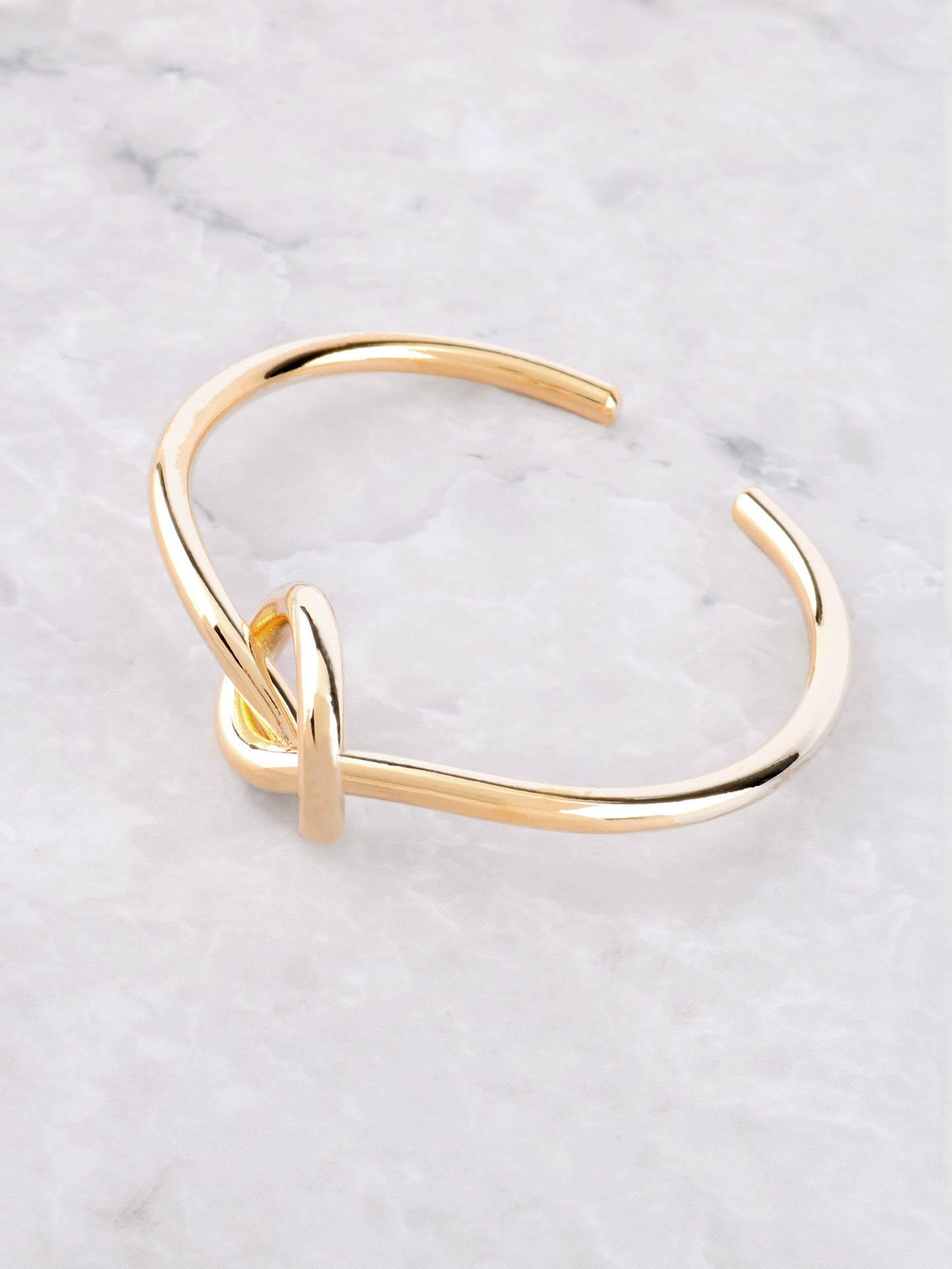 Love Me Knot Bracelet Anarchy Street Gold