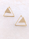Three Corners Earring Anarchy Street Gold