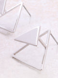 Three Corners Earring Anarchy Street Silver - Details