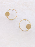 Round And Round Earring Anarchy Street Gold