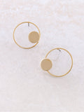 Round And Round Earring Anarchy Street Gold - 1 Details