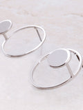 Round And Round Earring Anarchy Street Silver - Details