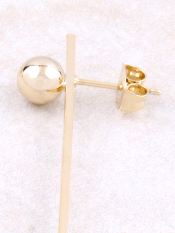 Line And Point Earrings Anarchy Street Gold - Details