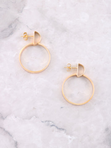 Hemisphere Earring Anarchy Street Gold