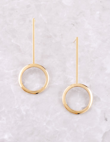 Lollipop Earrings Anarchy Street Gold