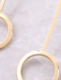 Lollipop Earrings Anarchy Street Gold - Details