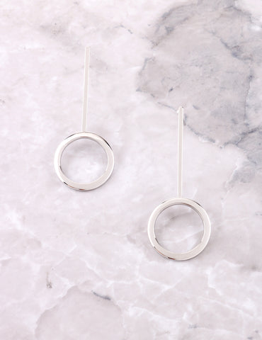 Lollipop Earrings Anarchy Street Silver