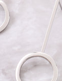 Lollipop Earrings Anarchy Street Silver - Details
