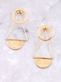 Infinite Double Sided Earring Anarchy Street Gold