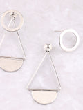 Infinite Double Sided Earring Anarchy Street Silver - Details