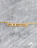 Mommy Necklace Anarchy Street Gold - Details
