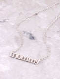 Mommy Necklace Anarchy Street Silver