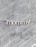 Mommy Necklace Anarchy Street Silver - Details