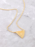 Pizza Slice Necklace Anarchy Street Gold