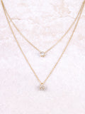 Pave Ball Necklace Anarchy Street Gold