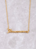 Hometown Necklace Anarchy Street Gold - 31