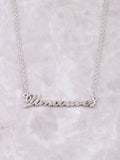 Hometown Necklace Anarchy Street Silver - 32