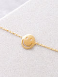 Happy Face Necklace Anarchy Street Gold