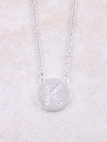 Circle Initial Necklace Anarchy Street Silver K