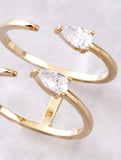 Spear Ring Anarchy Street Gold - Details