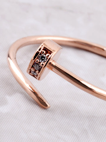 Nail'D It Ring Anarchy Street Rosegold - Details
