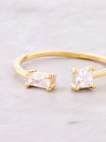 Double Baguette Ring Anarchy Street Gold - Details