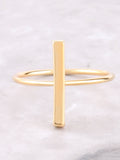 Straight Line Ring Anarchy Street Gold - Details