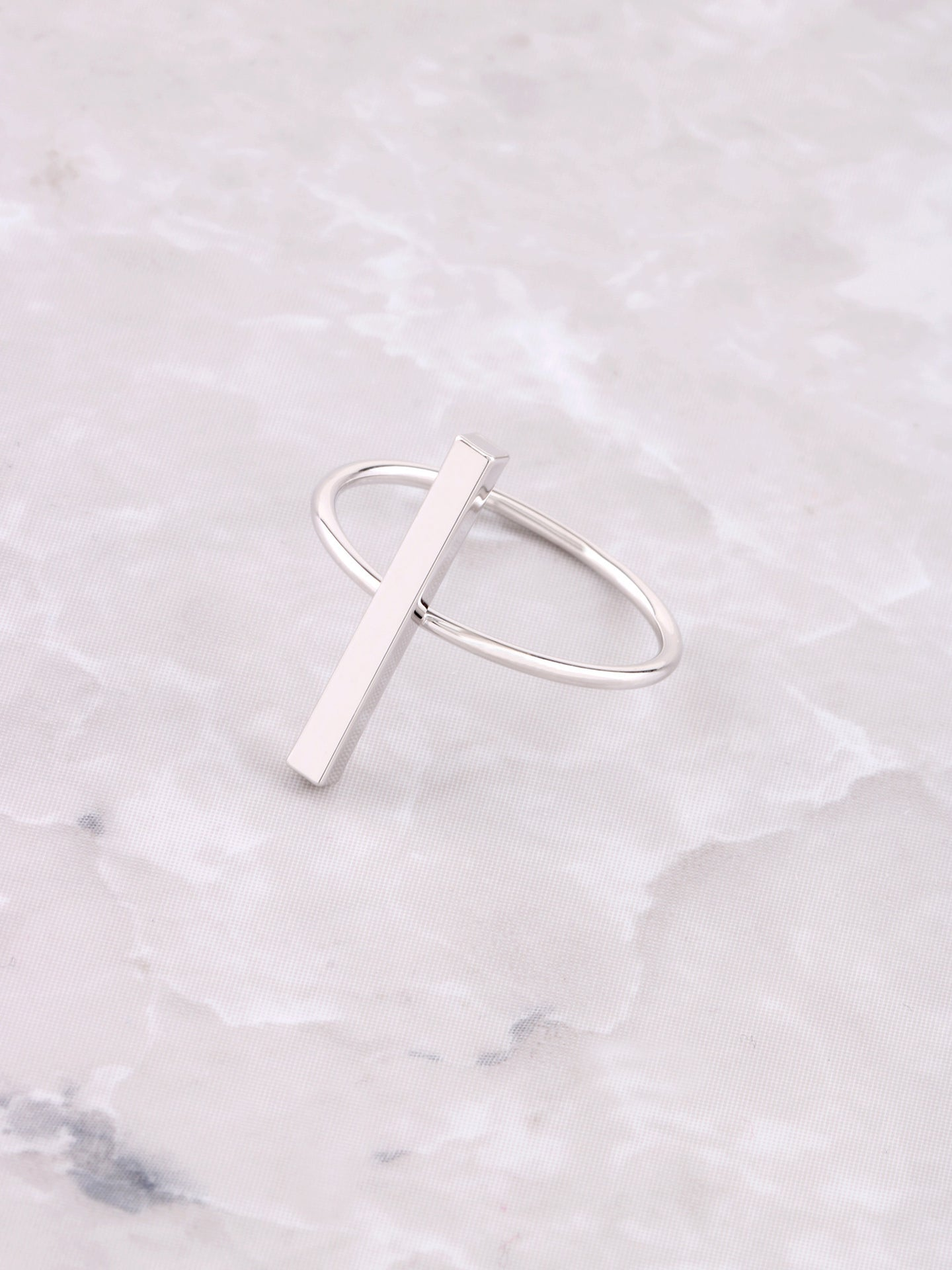 Straight Line Ring Anarchy Street Silver