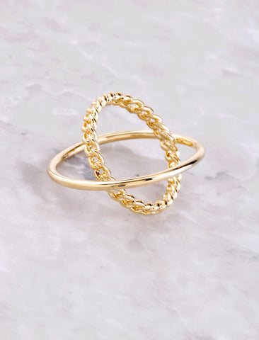 Orbit Ring Anarchy Street Gold