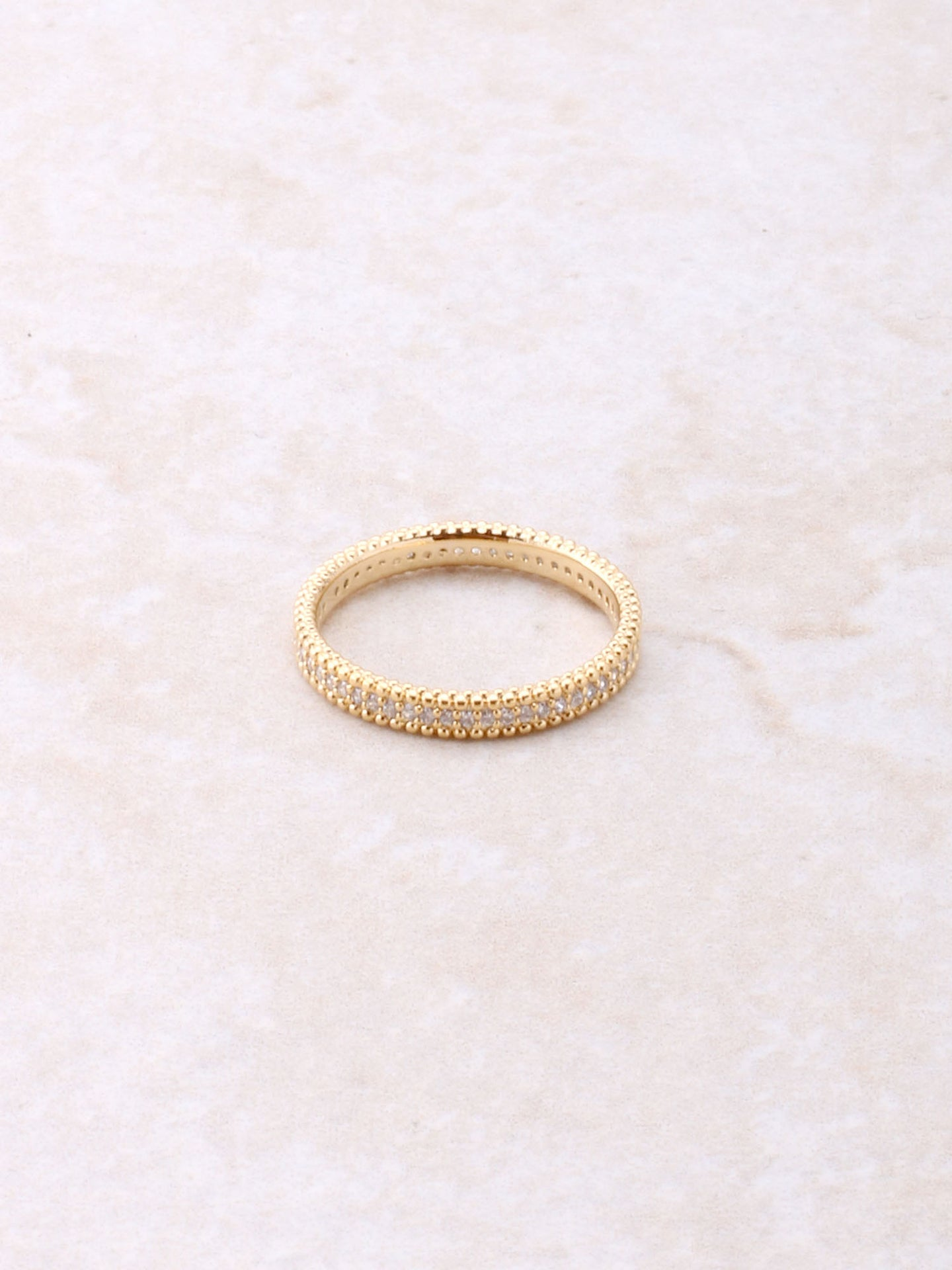 Banded Pave Ring Anarchy Street Gold