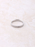 Banded Pave Ring Anarchy Street Silver