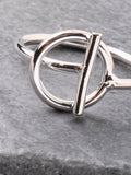 Interlock Ring Anarchy Street Silver - Details