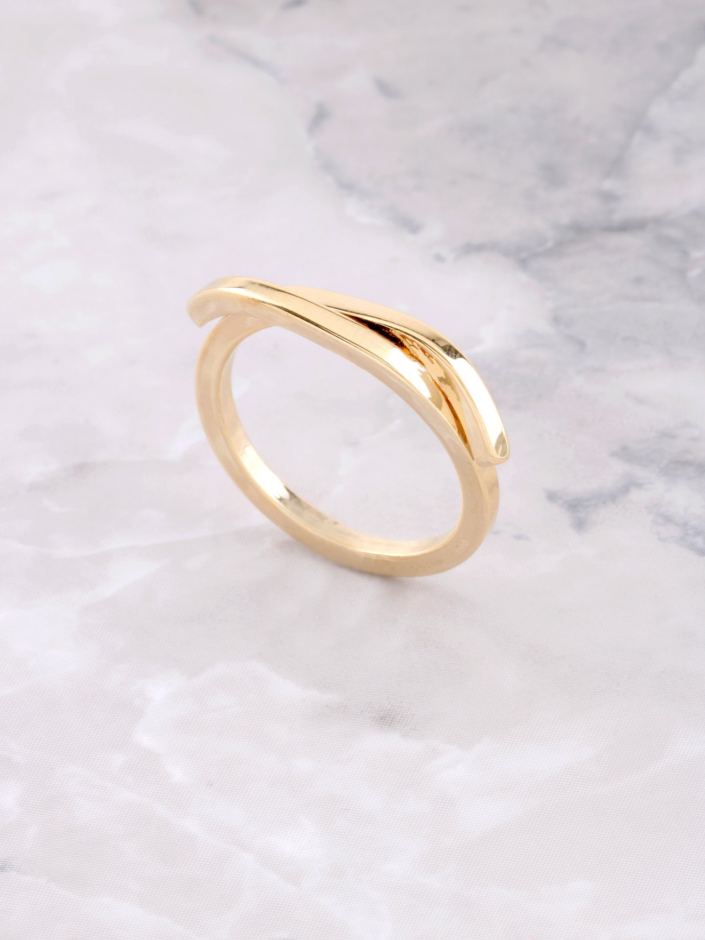Fold Over Ring Anarchy Street Gold
