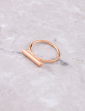Barrel Ring Anarchy Street Rosegold