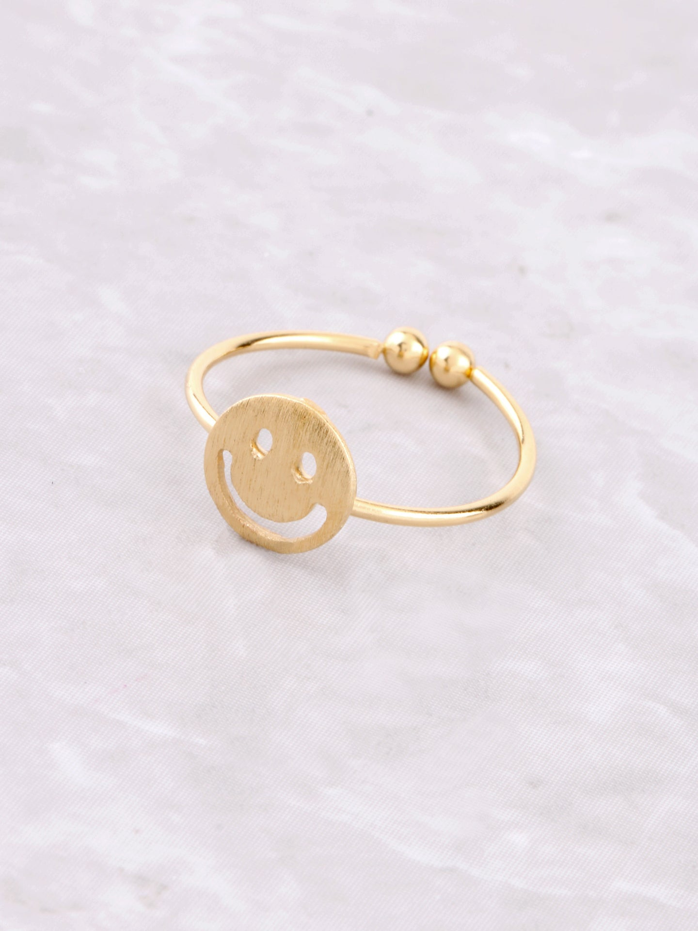 Happy Face Ring Anarchy Street Gold
