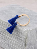 Double Tassel Ring Anarchy Street Blue
