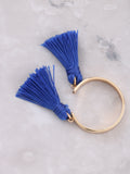 Double Tassel Ring Anarchy Street Blue - Details