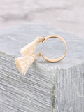 Double Tassel Ring Anarchy Street Ivory