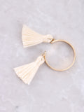 Double Tassel Ring Anarchy Street Ivory - Details