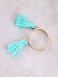 Double Tassel Ring Anarchy Street Turquoise - Details