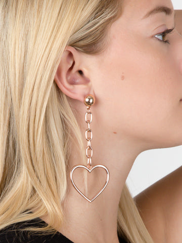 Heart Breaker Dangle Earrings