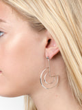 Geo Curve Earrings