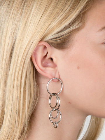 Intersecting Rings Earrings
