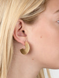 Half Disk Earrings