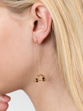 Barbell Chain Earrings