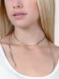 Crystal Tipped Choker