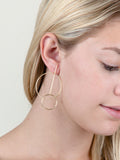 14K Intercepted Earring
