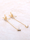 Soft Arrow Drop Earring
